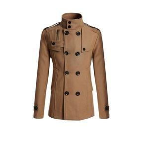 💲⤵Men's Jacket Double Breast Camel color